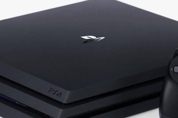 Zdjęcie produktowe przedstawiające konsolę PlayStation