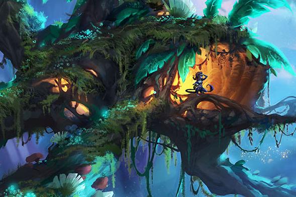 Majestatyczna grafika w artykule na temat artystycznej strony w grach