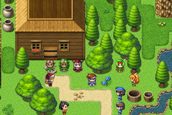 Screen z RPG Makera pasujący do tego artykułu