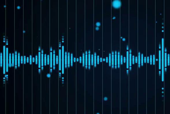 Grafika wizualizująca graficzną interpretację dźwięku